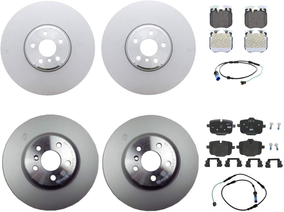 Genuine Front Rear Brake Kit Disc Rotors Pads Manufacturer regenerated product For Sensors BMW Charlotte Mall