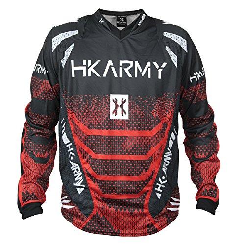 HK Army Freeline Paintball Jersey - Fire - Medium