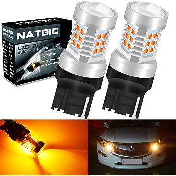 HAITEKU 580 W21//5W T20 7443 Sidelight DRL Daytime Running Light Super White Xenon Look Upgrade Bulbs