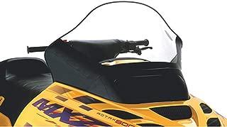 Cobra Windshield - Tall - 15.5in. - Clear with Black 2002 Ski-Doo Summit 800 Highmark Snowmobile