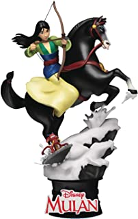 Beast Kingdom Disney Classic: Mulan DS-055 D-Stage Statue, Multicolor, 6 inches