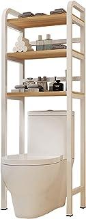 QULONG sur l'étagère de Toilette 165 * 50 * 29cm Rangement de Salle de Bain à 3 Niveaux, Support Toilette Gain Place Organ...