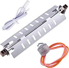 Sumnew Tech WR51X10055 Refrigerator Defrost Heater Replacements,WR55X10025 Temperature Sensor, WR50X10068 Defrost Thermostat Compatible with GE