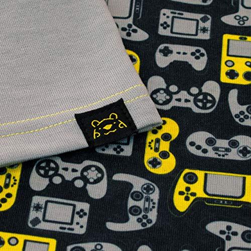 Harry Bear Boys Gamer Pyjamas Grey Age 8 to 9 Years