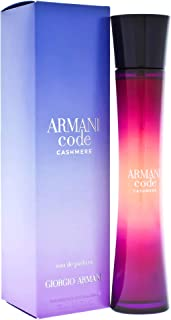 Giorgio Armani Giorgio Armani Armani code cashmere by giorgio armani for women - 2.5 Ounce edp spray, 2.5 Ounce