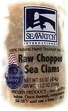 Sea Watch International, Raw Chopped Sea Clams, 16 oz