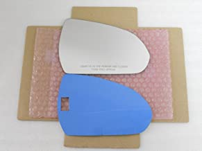 New Replacement Mirror Glass with FULL SIZE ADHESIVE for Hyundai Elantra Passenger Side View Right RH