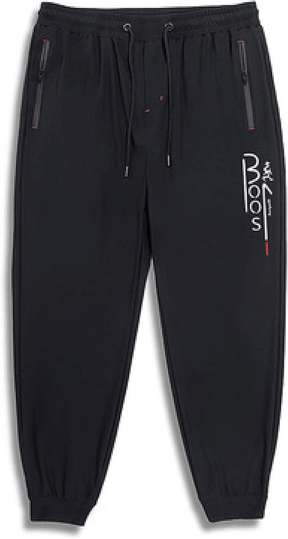 Atlanta Mall Men's New arrival Sports Pants Simple and Elastic Generous Drawstring Zipper