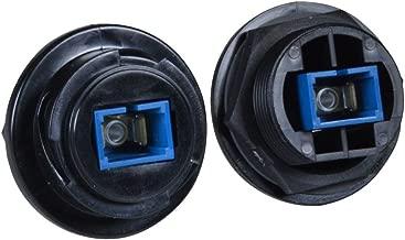 Waterproof Fiber Optic Panel Mount Simplex Singlemode SC Connector