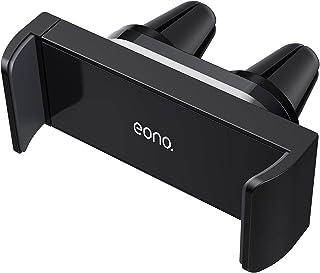 Eono Essentials Supporto Cellulare Auto, Universale Supporto Telefono : Rotazione 360 Gradi Supporto per Phone XS MAX XR X 8 7 6 Plus, Huawei, Samsung S10 S9 S8 S7, Google, Altri Smartphones - Nero