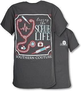 SC Classic Scrub Life Womens Classic Fit T-Shirt - Charcoal