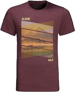 Jack Wolfskin Mens 2019 Motosu Lake T-Shirt