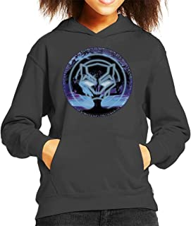 Marvel Black Panther Symbol Tree Kid's Hooded Sweatshirt