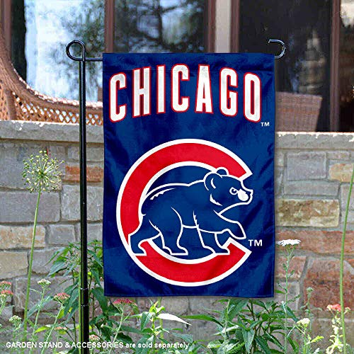 WinCraft Chicago Baseball Team Walking Bear Double Sided Garden Flag