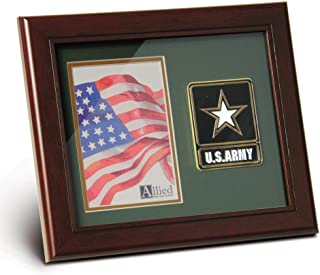 Allied Frame US EMS Medallion Portrait Picture Frame - 4 x 6 Picture Opening