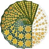 AVERY Zweckform Sticker Set Sterne 1.664 Aufkleber (Weihnachten, Weihnachtspost, DIY, selbstklebend,...