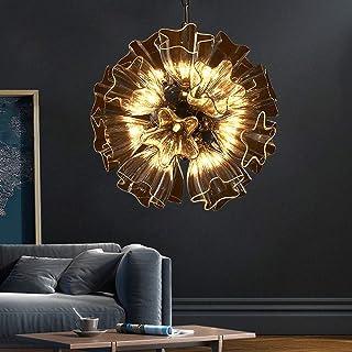 Home Equipment Creative Personality Glass Ball Chandelier Star Shape Lampshade Bedroom Restaurant Bar Decoration Design La...