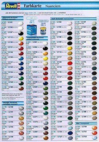 Revell Aquacolor 36xxx Farbensoriment - 10 Stück 18ml Dosen eigene Auswahl, günstiger als Einzelkauf - Schnellversand garantiert