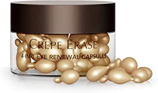 Crepe Erase – 4-in-1 Eye Renewal Capsules – TruFirm Complex – 30 Count