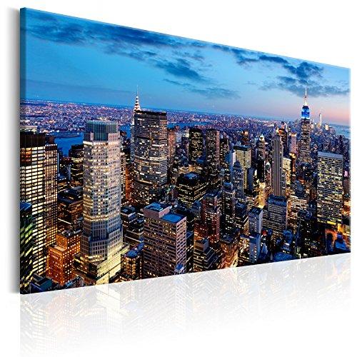 murando Quadro 120x80 cm 1 pezzo Stampa su tela in TNT XXL Immagini moderni Murale Fotografia Grafica Decorazione da parete Cittá City Panorama d-B-0079-b-d