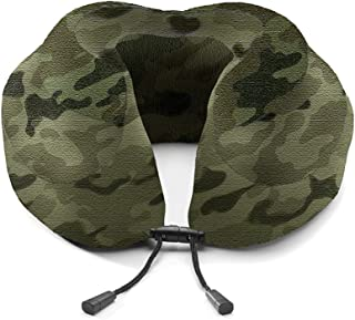 U-Shaped Pillow Classic Thick U-Shaped Pillow Neck Pillow Memory Foam Aircraft Travel Pillow Lunch Break Pillow QYLOZ (Color : E)