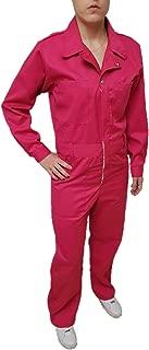 Pink Overalls Women Work Coveralls Women Pink Work Overalls Pink Overall Women