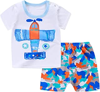 Conjuntos Bebe Niño en Oferta, K-youth Ropa Niño Ropa Bebe Recien Nacido Niño Camiseta para Niños T Shirt Estampado Tops N...