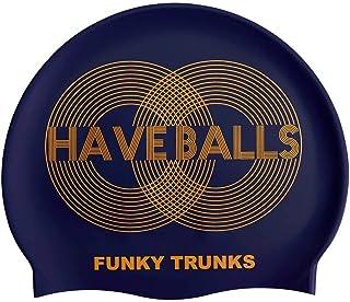 Funky Trunks Golden Balls Silicone Swim Cap