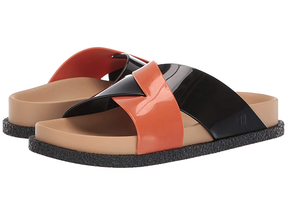 Melissa Shoes Energy (Black/Beige/Orange) Women