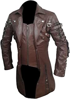 Best gothic leather trench coat Reviews