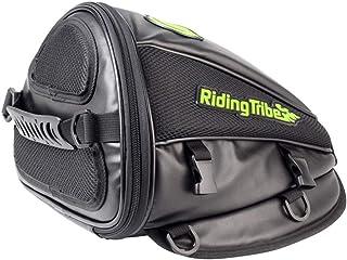 13d9a9260dc Bolsa de asiento de bicicleta Asiento trasero Bolso lateral del caballero  Motocicleta lateral Depósito de combustible