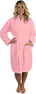 Best pink waffle weave robe Reviews