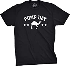 Mens Pump Day Funny Camel Hump Day Workout Fitness Gym Lifting T Shirt