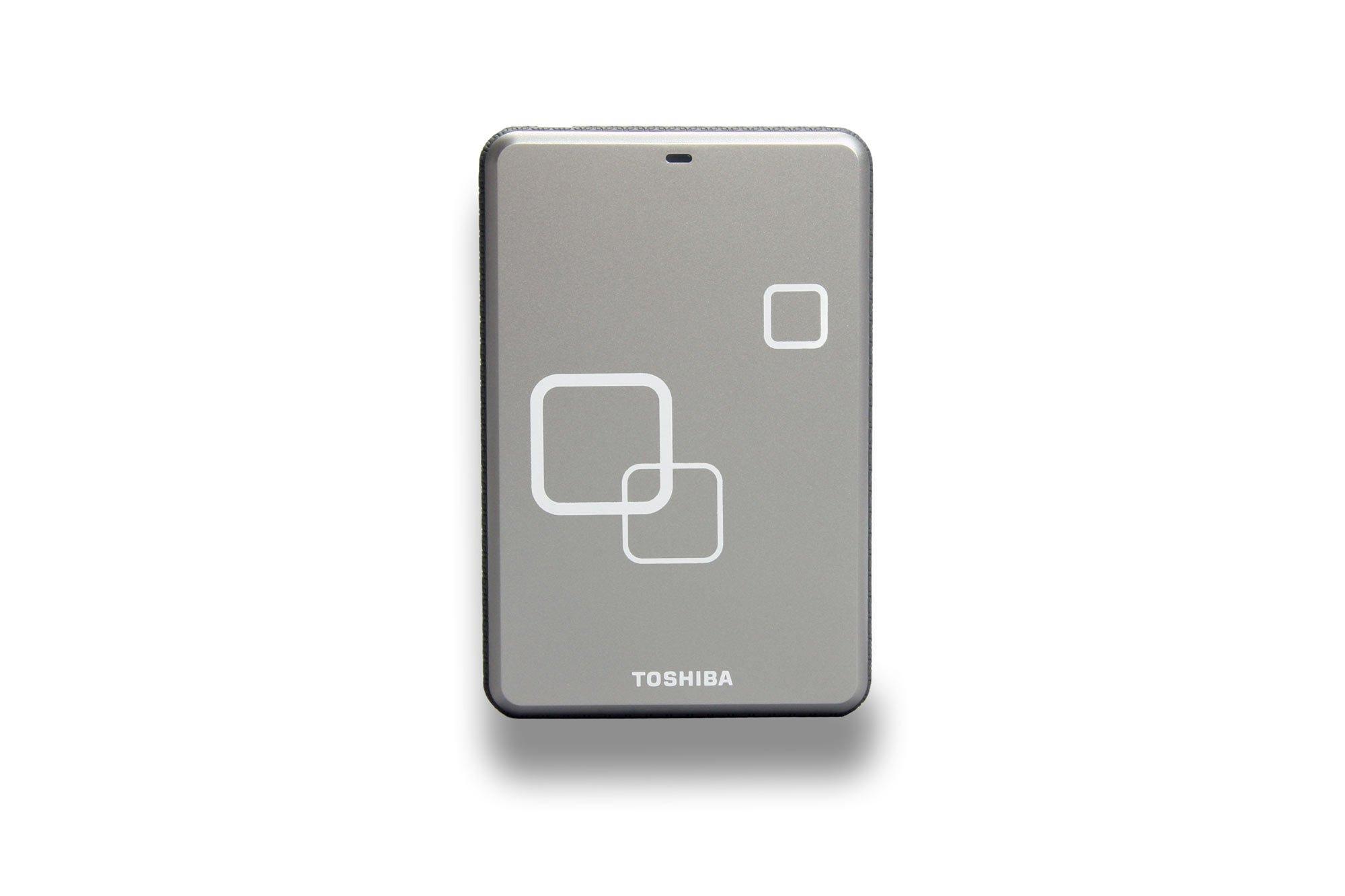 Toshiba Canvio Disco Duro Externo portátil USB 2.0 para Mac Plata ...
