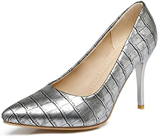 Smilice Court Shoes with Stiletto and Pointed Toe for Office Lady