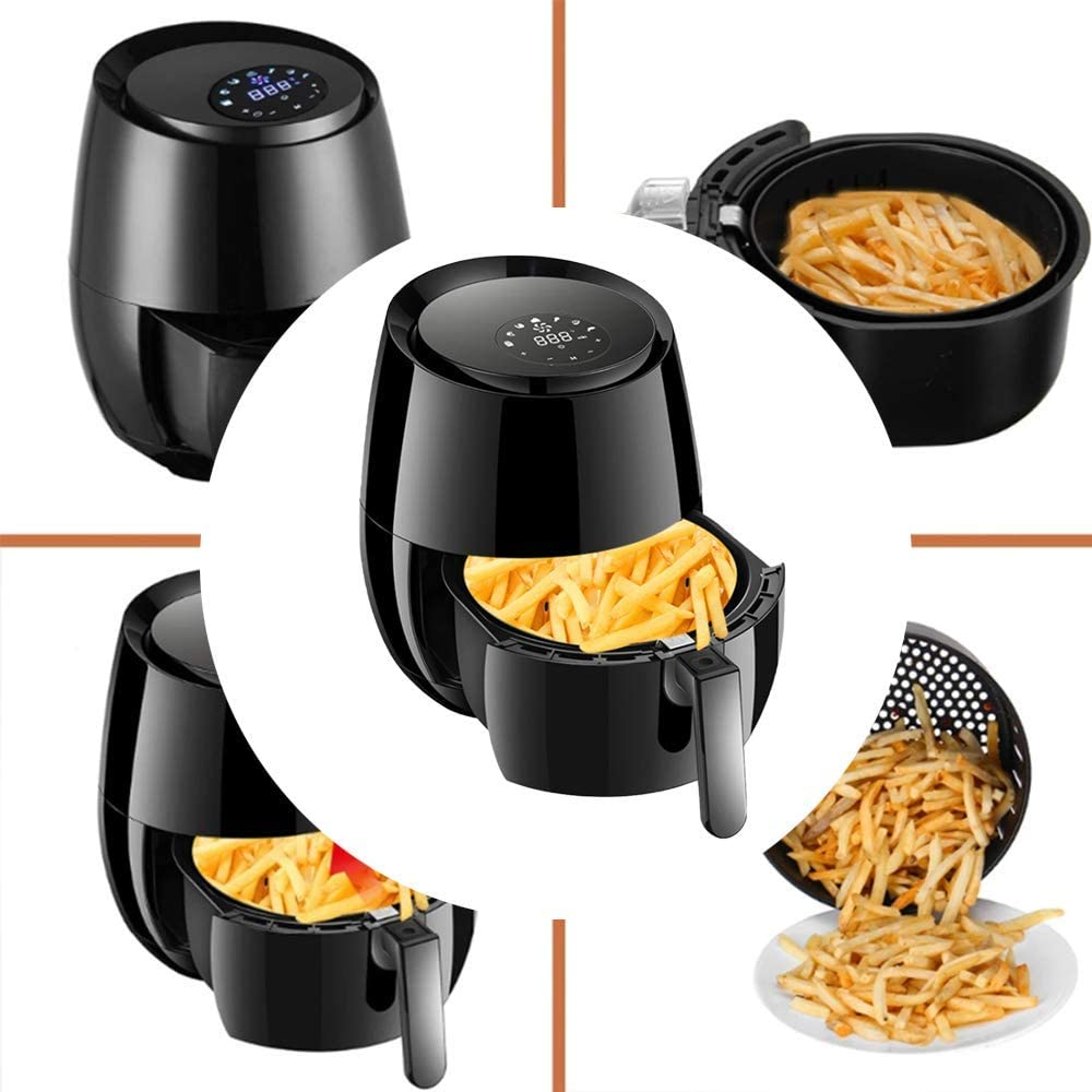 Al sold out. Extra Large Oil Free Fryer 5.2 Air w System L Circulation 2021