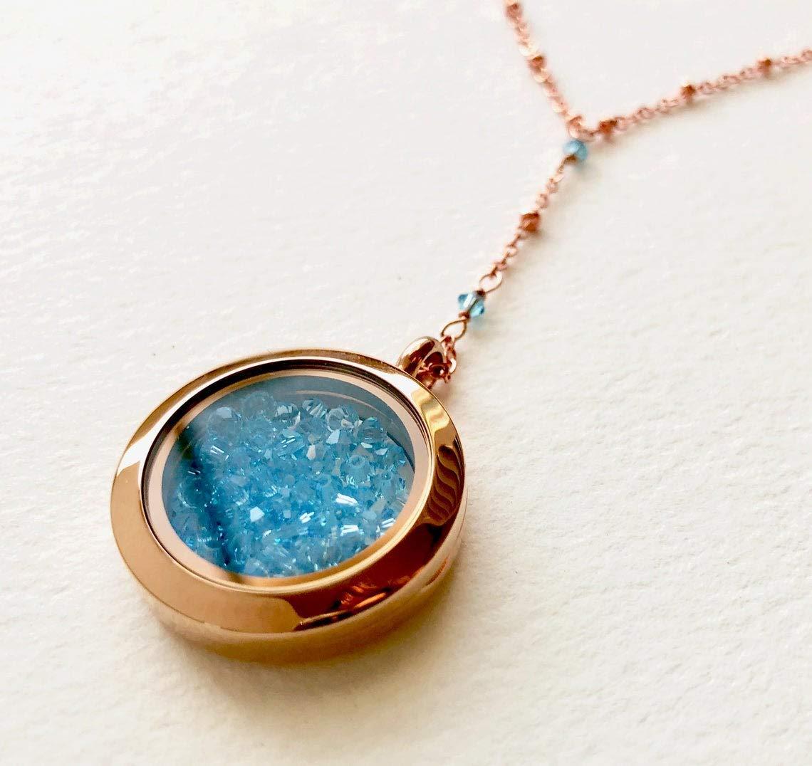shop Aquamarine Y necklace Cameron The Diaz Arlington Mall Births Holiday