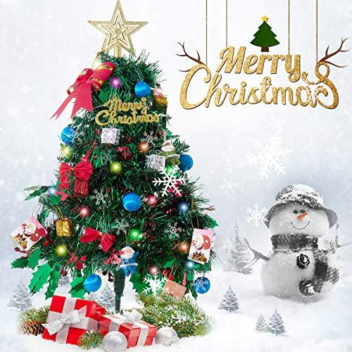Freudlich Árbol de Navidad, Adornos creativos en Miniatura