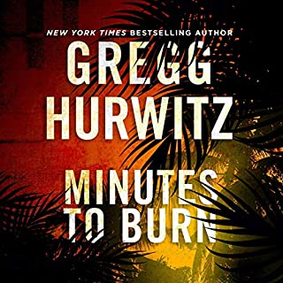Minutes to Burn audiobook cover art