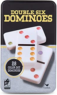 Cardinal Games - Traditions: Double Six Color Dot Dominoes (Renewed)