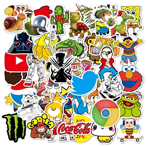 TUHAO Funny Meme Graffiti Stickers For For Cars Motorcycles Water Cups Furniture Children'S Toys Luggage Skateboards Lable 100Pcs/Pack