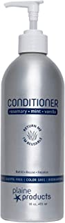 Eco-Friendly Conditioner - Rosemary, Mint, Vanilla - Sulfate Free, 16oz (Refillable Bottle with Pump)