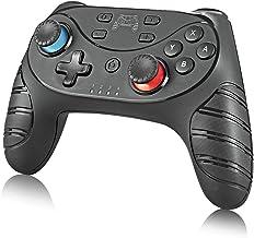 Andoer Controlador de jogo para Switch Wireless Bluetooth Gamepad Joystick Controller com 6 eixos alça dupla vibração comp...