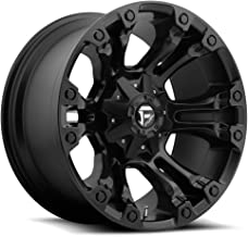FUEL Vapor BD -Matte BLK Wheel with Painted (17 x 9. inches /6 x 135 mm, -12 mm Offset)