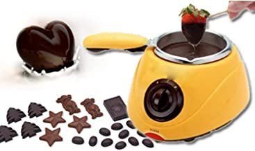 Basic Deal Portable Electric Chocolate Melting Pot with Chocolate Making Kit for Kitchen (220v-240v 20w)