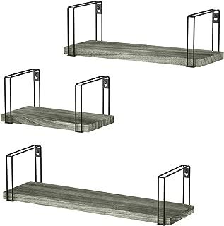 Best grey wooden shelf Reviews