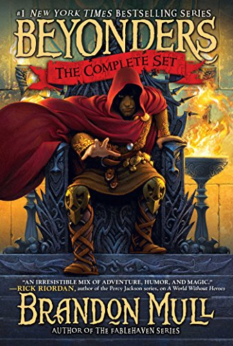 Brandon Mull's Beyonders Trilogy: A World Without Heroes; Seeds of Rebellion; Chasing the Prophecy (English Edition)の詳細を見る