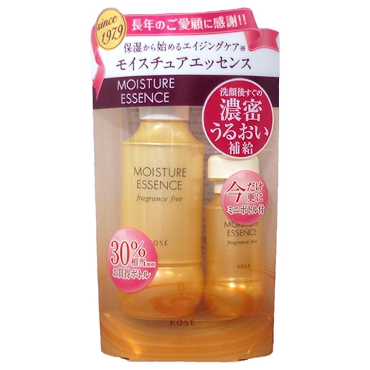 試してみるシンポジウムランチコーセー モイスチュアエッセンス 無香料 130ml+30ml キャンペーンキット