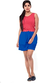 EASY 2 WEAR ® Women High Waisted Elasticated Shorts with Drawstring (Sizes XS to 4XL)