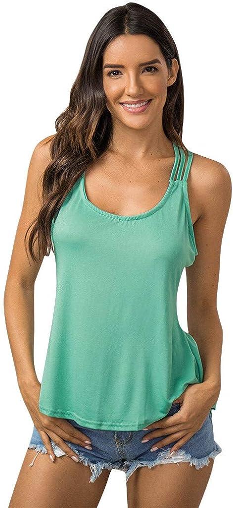 Cute Tops for Women Summer,Women Summer Sunflower Graphic Tank Tops Casual Sleeveless Workout Shirts